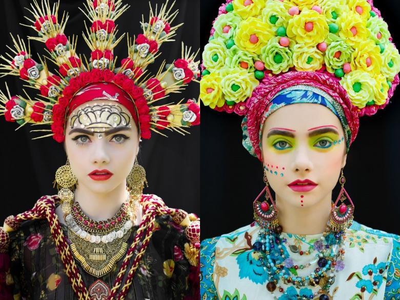 Polonyalı Sanatçılardan Büyüleyici Renkleriyle Slav Çelenkleri