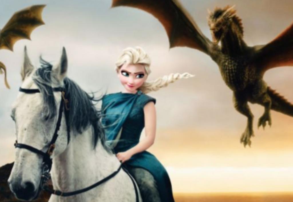 Game of Thrones Evrenine Konuk Olan Disney Prensesleri