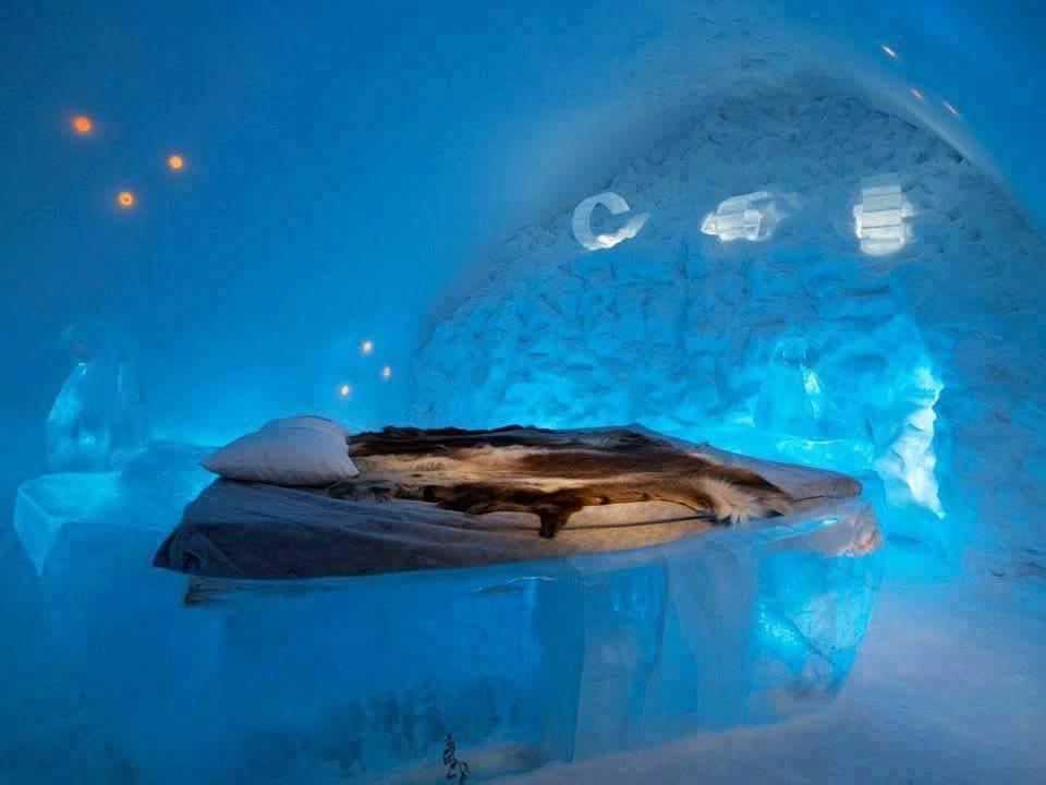 İsveç'te Bulunan Dünyanın En Pahalı Oteli: Buzdan Otel