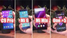 Türkiye'de Satılmayan 4 Baba Telefon Hız Testi: C9 Pro, Mi Mix, Mi6 ve One+ 5