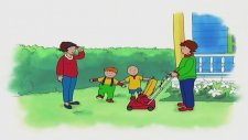 Caillou Büyük Anne ve Büyük Babayla Zaman Geçiriyor (Caillou Türkçe | Çizgi Film)