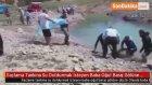 İlaçlama Tankına Su Doldurmak İsteyen Baba Oğul Baraj Gölüne Düştü
