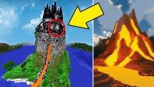 Dünyanın En Gizemli Ve Akıllı Volkan Evi (Minecraft)