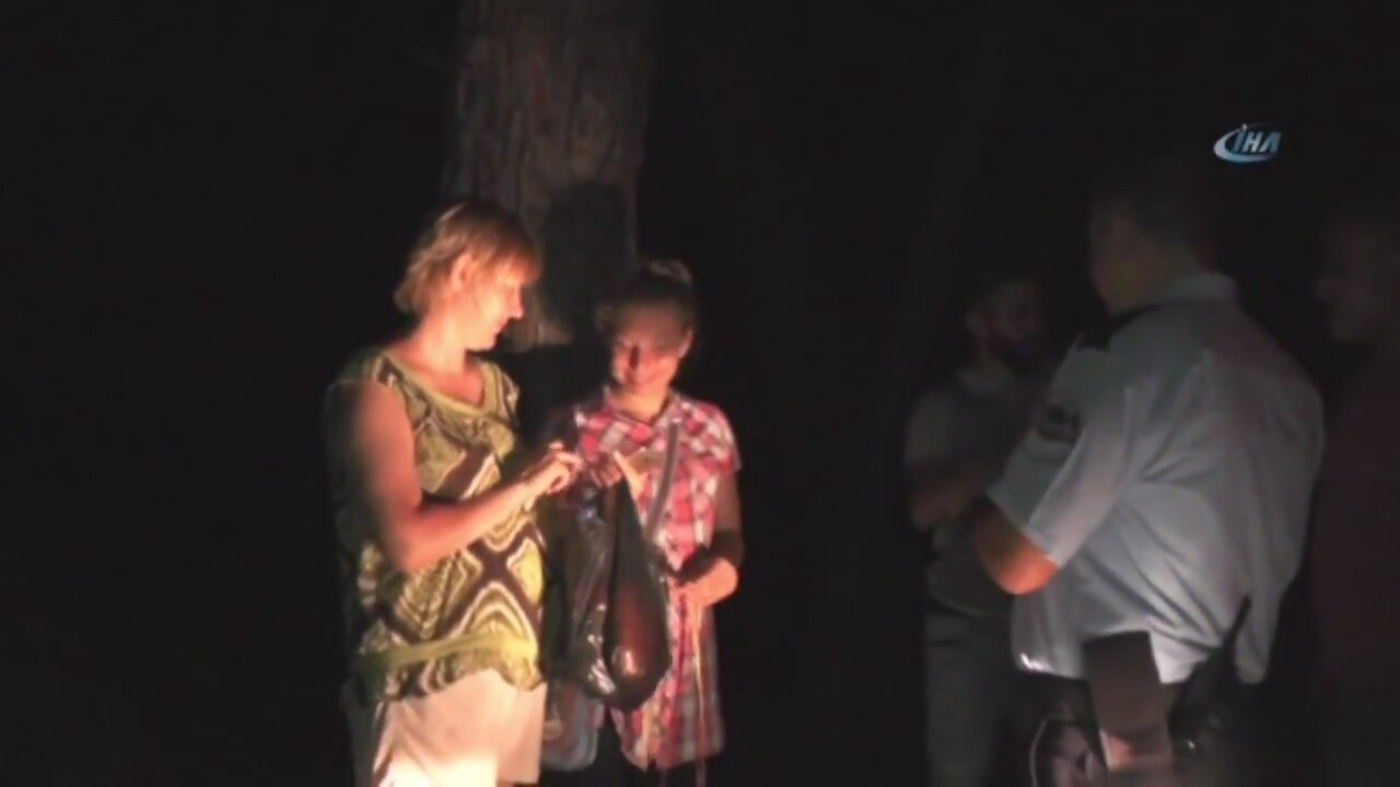 Ormanda kaybolan Rus anne ve kızı, 8 saat sonra bulundu