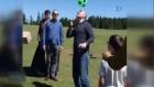 Bakan Soylu yaylada top sektirdi