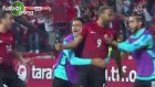 Cenk Tosun'un Hırvatistan'a attığı gol