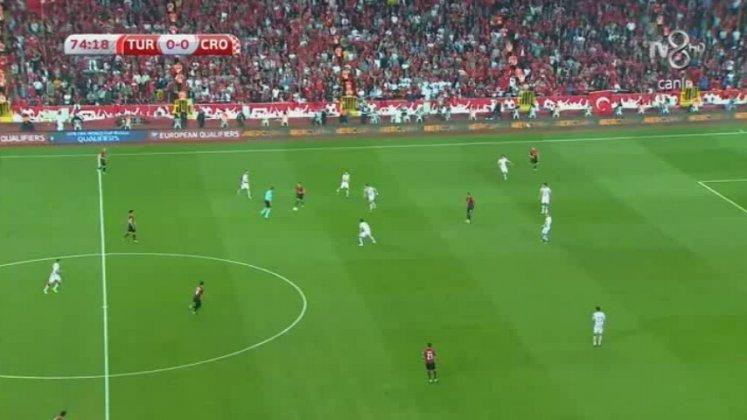 Türkiye 1-0 Hırvatistan (Dakika 75 Gol: Cenk Tosun
