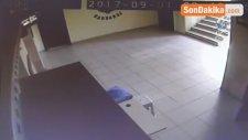 Okula Girişleri Güvenlik Kameralarına Yansımıştı.