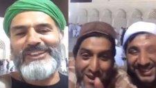 Yaşar Alptekin Medine'de Menzil Tarikatı Sofileriyle