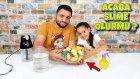 Mis Meyve Sabunlarıyla Slime Challenge - Enteresan Bir Slime Oldu !!