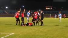 Şilili futbolcu ölümden döndü!