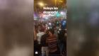 Suriyeliler'in Aksaray'da Play-Off sevinci