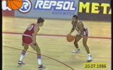 1986 Dünya Basketbol Şampiyonası Finali ABD  Sovyetler Birliği