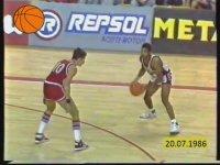 1986 Dünya Basketbol Şampiyonası Finali (ABD - Sovyetler Birliği)