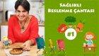 Sağlıklı Beslenme Çantası#1 - Sebzeli & Peynirli Poğaça | İki Anne Bir Mutfak