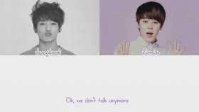 BTS - We Don't Talk Anymore