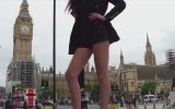 Guinness Rekorlar Kitabına Giren En Uzun Bacaklı Model