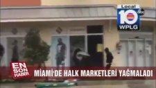 İrmanın Vurduğu Miamide Hırsızlar Sabe-Eh Akşam Ewlerden İş Yerlerinden Malzeme Çalıyor