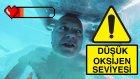 Batan Gemide Az Oksijen ile Hayatta Kalmak Mümkün Mü? - Test Ettik