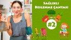 Sağlıklı Beslenme Çantası#2 - Sebzeli Krep | İki Anne Bir Mutfak