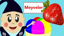 Meyveleri Öğreniyorum | Çocuklar için Türkçe Eğitici Çizgi Filmler izle
