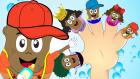 Parmak Ailesi | Patates Adam Ailesi | Çocuk Şarkıları 2017  | Çizgi Film Bebek Şarkıları Dinle