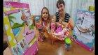 Barbie Bebeklerimiz İçin Hamak Ve Kaykay, Bebişler Hamak İçin Kavga Ediyor, Toys Unboxing