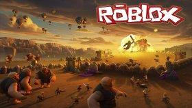 Roblox'ta Clash Of Clans Savaşları! Ahmet Aga Ordusu!