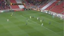 Tomas Necid'in  Maccabi Tel Aviv'e attığı gol