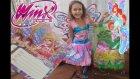 Yeni winx kostümü, Elif Winx Perisi Bloom oluyor, eğlenceli çocuk videosu, toys unboxing