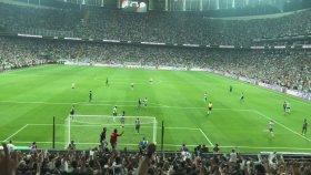 Beşiktaş 1-0 Atiker Konyaspor Gol: Cenk Tosun (Tribün Çekimi)