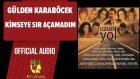 Gülden Karaböcek - Kimseye Sır Açamadım - ( Official Audio )