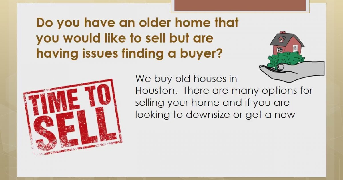 Have An Older Home And Looking To Sell We Buy Old Houses