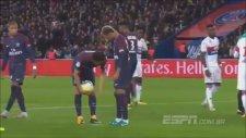 Neymar'la Cavani'nin Penaltı Kavgası (PSG 2-0 Lyon)