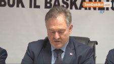 AK Parti İl Başkanı Saylar İstifasını Açıkladı