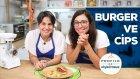 Ev Yapımı Burger Ve Cips (1+ Yaş Tüm Aile) | Profilo ile Pişiriyoruz | İki Anne Bir Mutfak