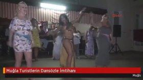 Turistlerin Dansöz İle İmtihanı