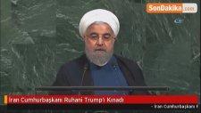 İran Cumhurbaşkanı Ruhani Trump'ı Kınadı