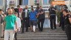 Gaziosmanpaşa'da Bir Polisin Şehit Olduğu Olayla İlgili Yakalanan Üç Zanlı Adliyeye Sevk Edildi.