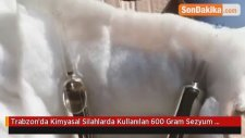 Trabzon'da Kimyasal Silahlarda Kullanılan 600 Gram Sezyum Maddesi Yakalandı