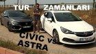 106.000 TL'ye Hangi HB? | Opel Astra vs Honda Civic (Tur zamanları)
