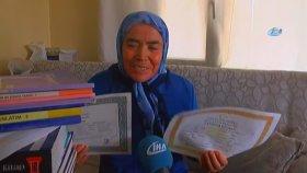 72 Yaşında Lise Mezunu Olmak!