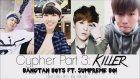 Bangtan Boys - Cypher Part 3: Killer ft. Supreme Boi (Color Coded Lyrics: Han, Rom, Eng.)
