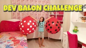 Benekli Balonların İçinde Ne Var ? Dev Balon Challenge | Tam Komedi Oldu !!