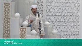 Cuma Hutbesi - Prof. Dr. Ali Erbaş (22.09.2017)