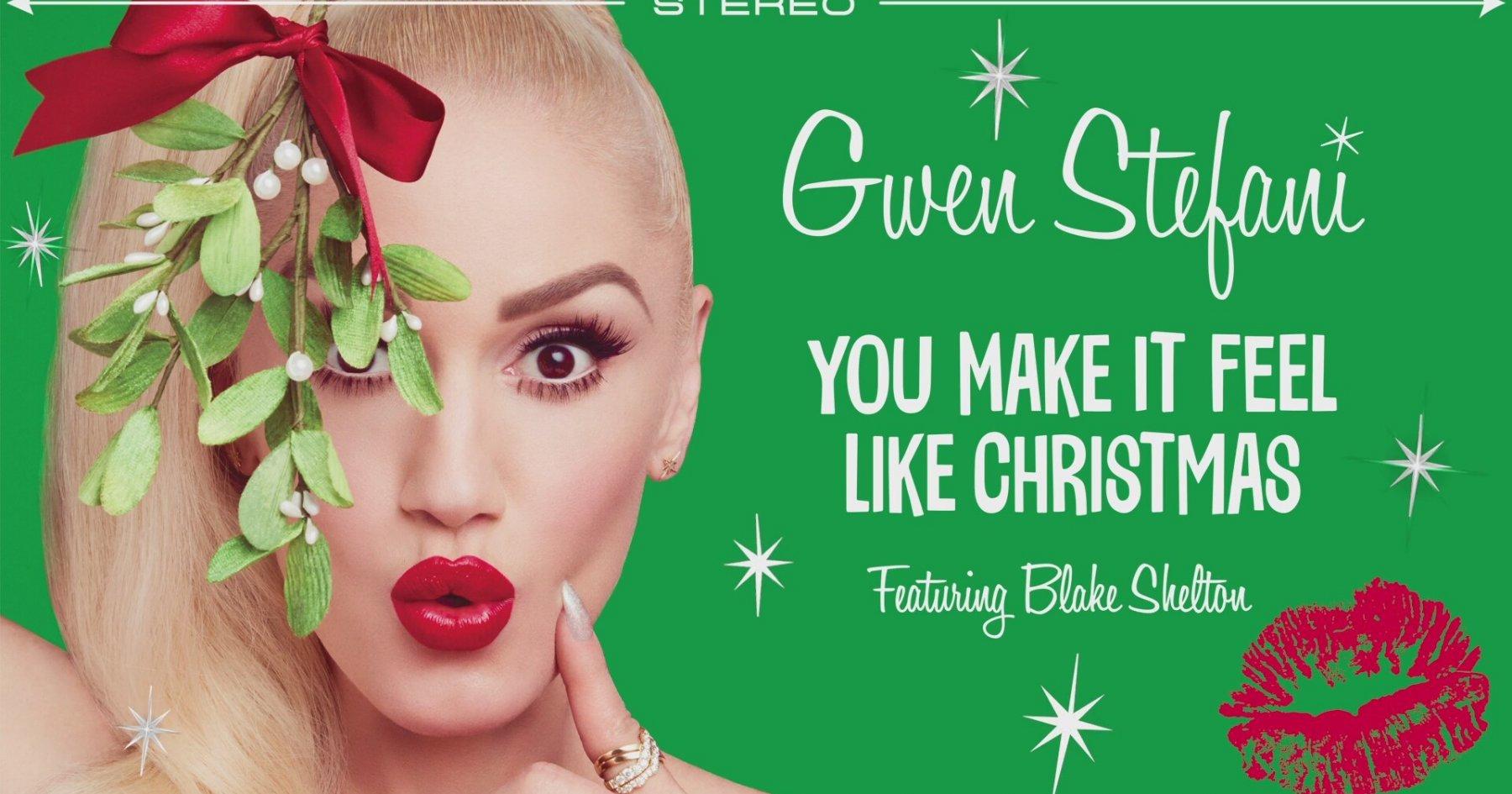 Gwen Stefani - You Make It Feel Like Christmas   İzlesene.com