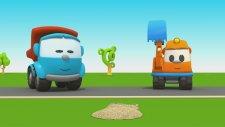 LeoJunior  Kumandalı Arabayı Yapıyor ( Leo The Truck 64 Toy Car )