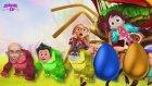 Parmak Ailesi Gorile Dönüşüyor Renkleri Öğreniyor.