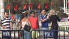 Taksim'de Arap Kadın Turistlerin Kavgası
