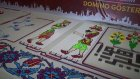 300.000 Domino Taşıyla Akıl Almaz Gösteri